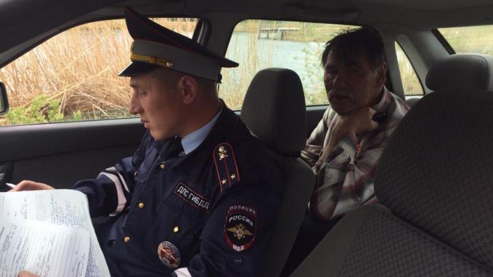 Гонка в «Малиновке»: пьяный южноуралец пытался задавить соседей