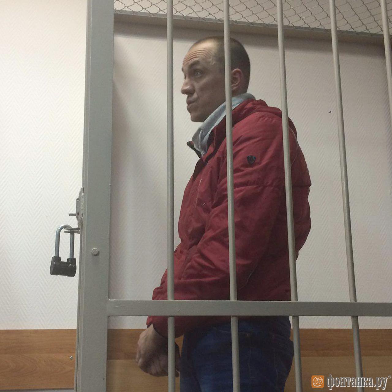 Андрей Артемьев в зале суда