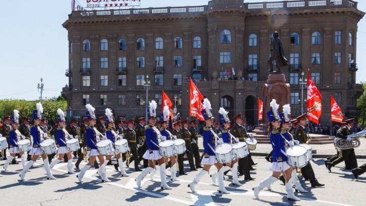 Волгоградский военный оркестр отметил свой день рождения