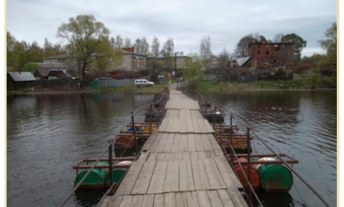 В Ярославской области открыли плавучий мост на летний период