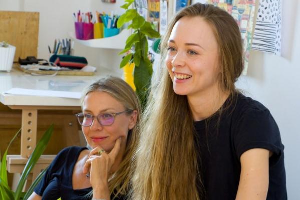 Астрид и Елена хотят рассказать всему миру, что же такое Урал