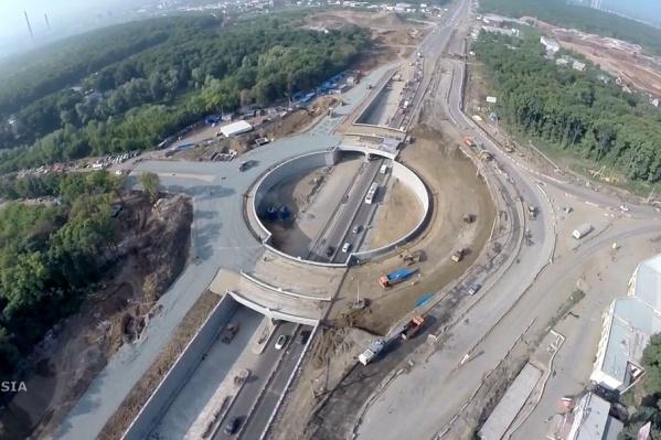 Развязка на Ракитовском шоссе почти готова