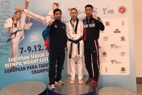 В ноябре ростовчанка уже стала чемпионкой России, теперь же она завоевала золото чемпионата Европы