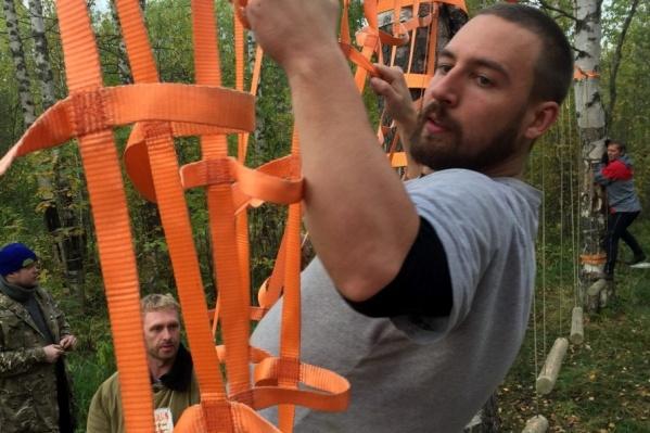 Дистанции для чемпионата сделаны в городском парке Новодвинска