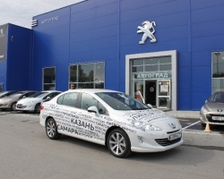 К марафону Peugeot 408 присоединилась Тюмень