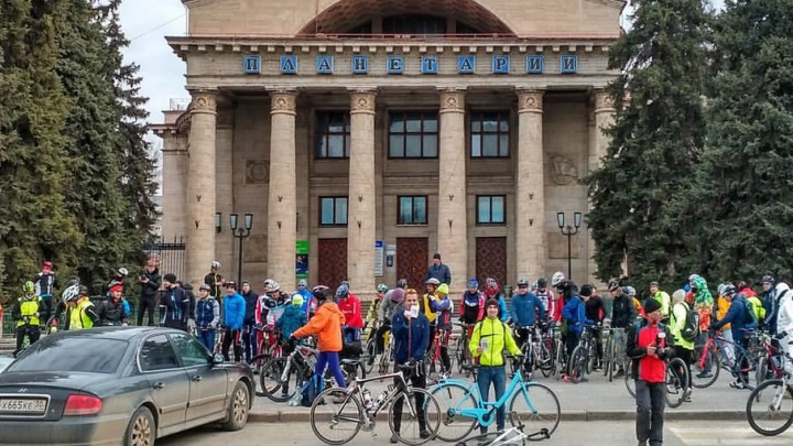 Велоактивисты Волгограда решили помочь чиновникам прокладывать велодорожки