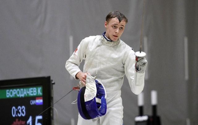 Самарский рапирист завоевал серебряную медаль на первенстве Европы