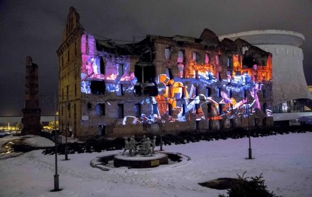 Мельницу Гергардта оснастят световыми эффектами в виде взрывов