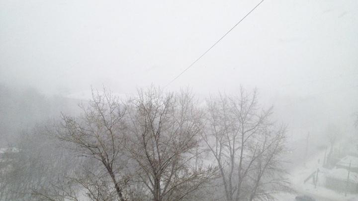 На Южный Урал надвигаются снежная буря и похолодание