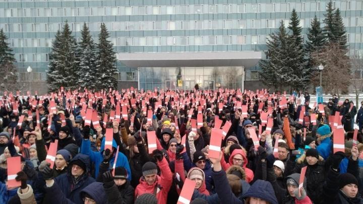В Перми 700 человек выдвинули Навального в кандидаты в президенты