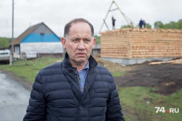 Камиль Хайруллин планирует построить несколько домов для тех, кто согласится развивать деревню