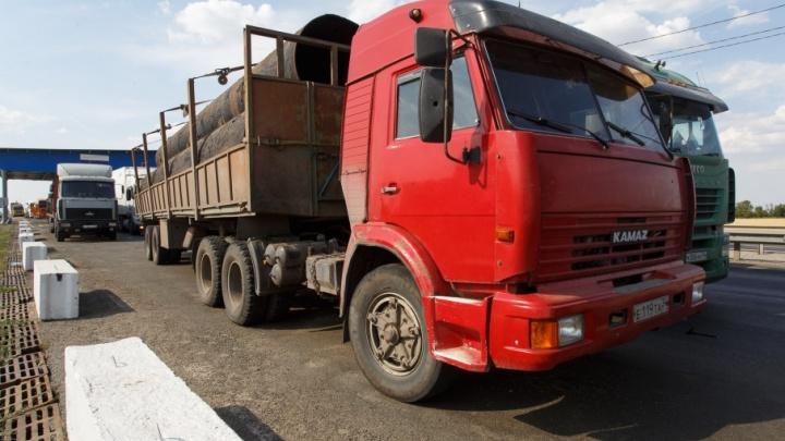 «Нас из-за Медведева не пускают»: на въездах в Волгоград выстроилась очередь из большегрузов