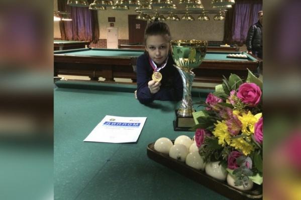 Юная чемпионка Валерия Кондратьева
