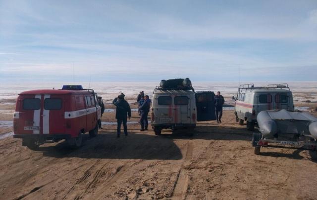 МЧС спасло восемь рыбаков на Рыбинском водохранилище