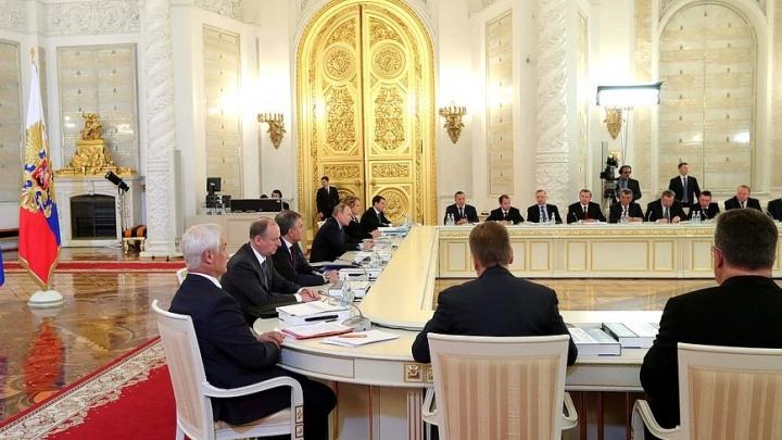 Глава Ярославской области прибыл в Кремль к Путину