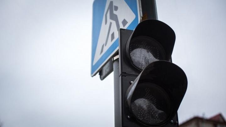 В Тюмени из-за аварии на электросетях погасли светофоры на восьми оживленных перекрестках