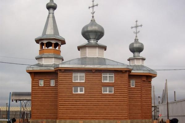 Церковь построили в 2005 году
