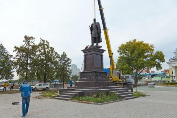 Открытие памятника Столыпину перенесли во второй раз