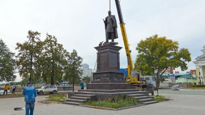 Открытие памятника Столыпину в Челябинске перенесли на неопределённый срок