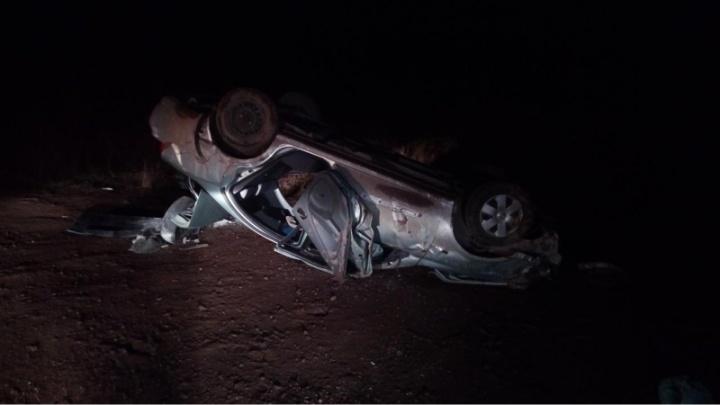 В аварии на трассе в Пермском районе пострадал 9-летний мальчик