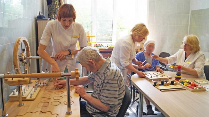 В Архангельской областной больнице открылся кабинет эрготерапии