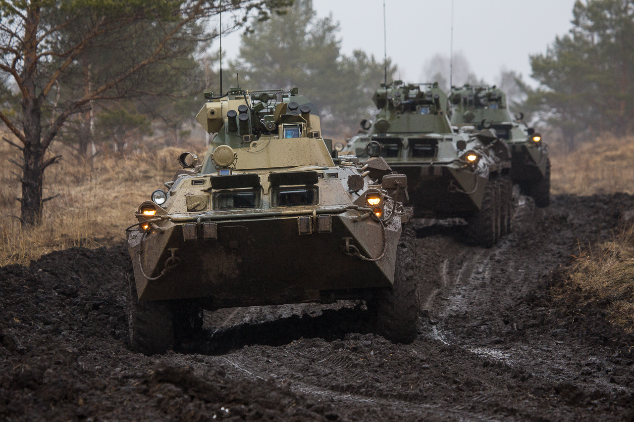 Новые БТР-82А поступили на вооружение в ноябре прошлого года