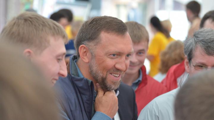 Волгоград посетил бизнесмен Олег Дерипаска