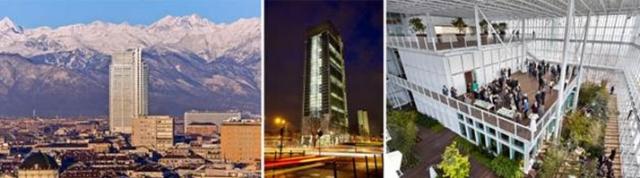 Группа Интеза Санпаоло объявила об открытии «Туринского Небоскреба»