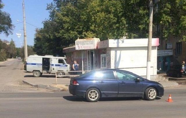 В Волгограде  Honda Civic снесла переходившую дорогу 92-летнюю пенсионерку