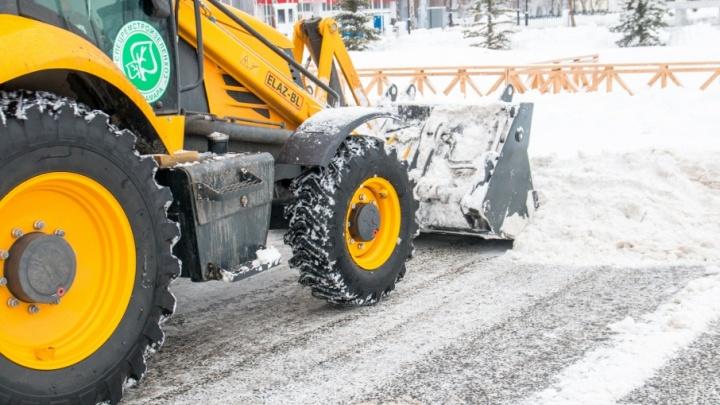 С начала зимы с улиц Самары убрали 57 тысяч тонн снега и мусора