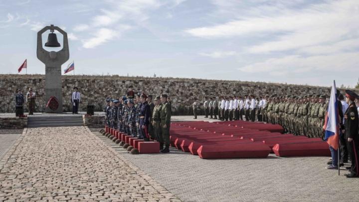 Под Волгоградом поисковики со всей России пошли по следам 41-й гвардейской дивизии