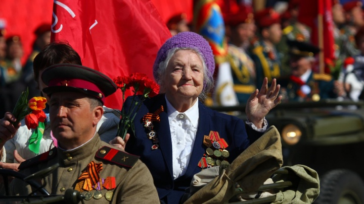 Парад Победы в Самаре в лицах