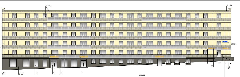 Архитекторы намерены придать зданию строгий вид