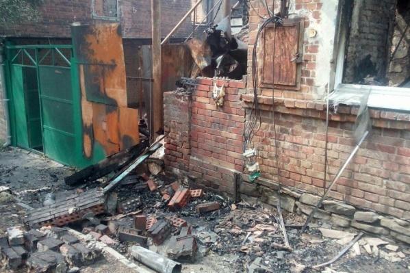 Сгоревшие дома и участки выкупят, на их месте будет бульвар, школа и детский сад
