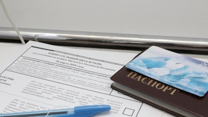 Меньше всего голосов за Путина в Поморье отдали жители Верхнетоемского района