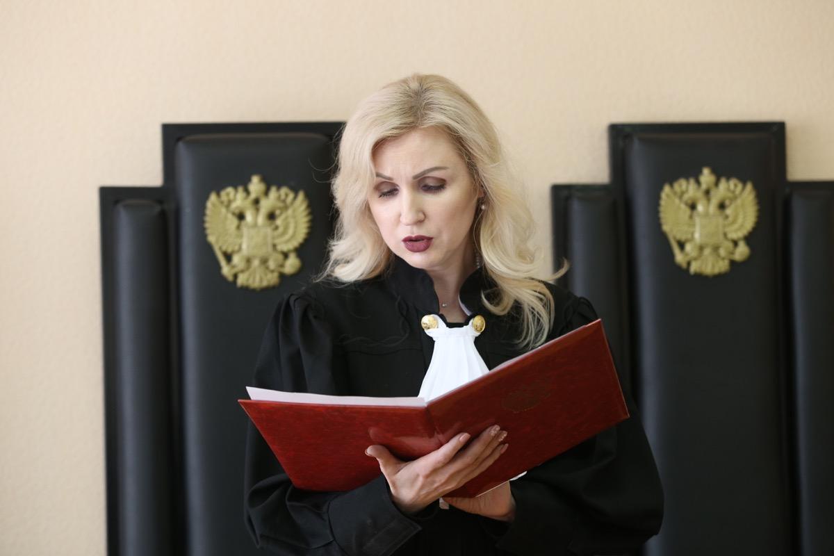 Ирина Шершикова читала приговор два дня