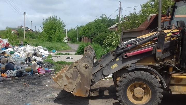 Три стихийные свалки ликвидировали в СЖМ Ростова