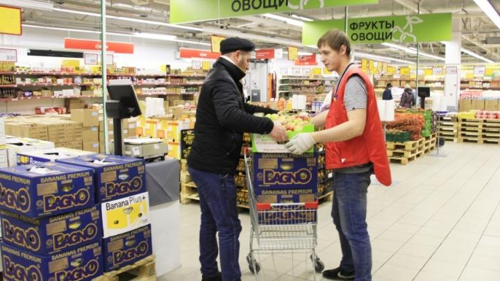 «Магнит» в Архангельске начал продавать мелким оптом