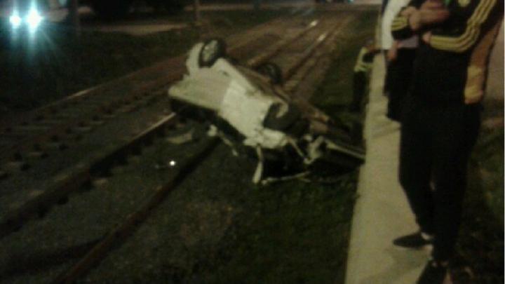 Молодая челябинка разбила авто и травмировала подруг