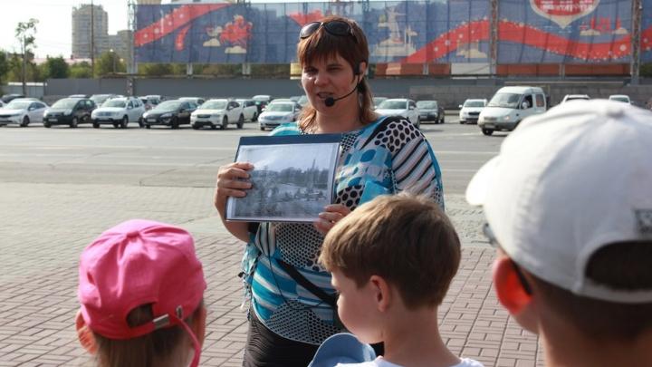 Пешком по городу: экскурсоводы знакомят с историей Волгограда во время прогулок