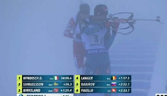 Стрельба в тумане: тюменские биатлонисты на Кубке мира пришли четвертыми