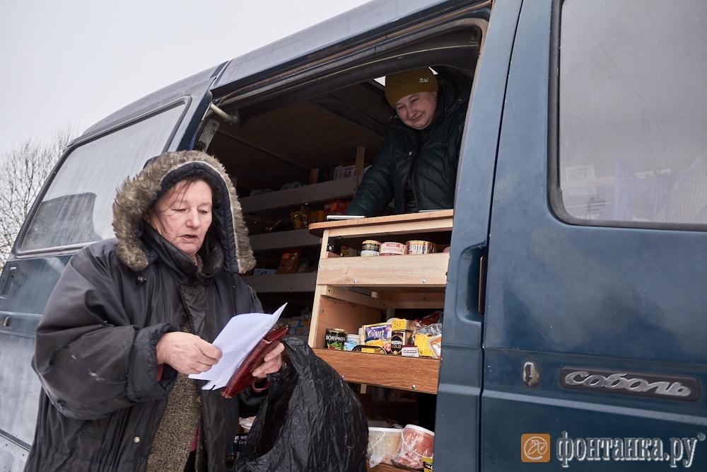 Единственная жительница деревни Елена Иванова