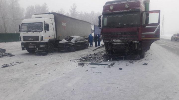 Две девушки погибли в ДТП на трассе Тюмень — Омск