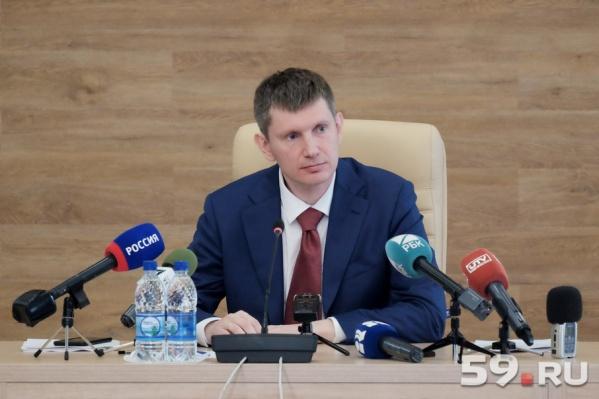 Максим Решетников провел большую пресс-конференцию