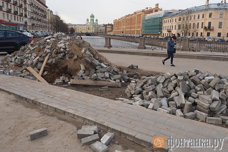 угол Садовой ул. и наб. Крюкова канала