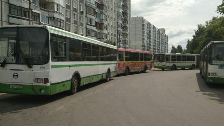 В Брагино водитель автобуса незаконно установил в транспорте газовое оборудование