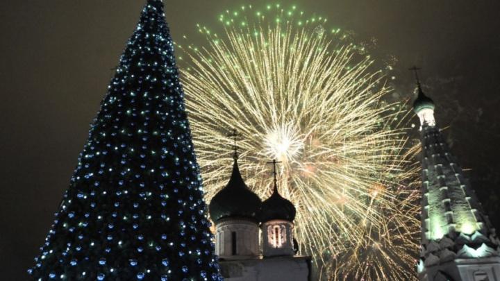 В Новый год в центре Ярославля покажут шоу с двух башен