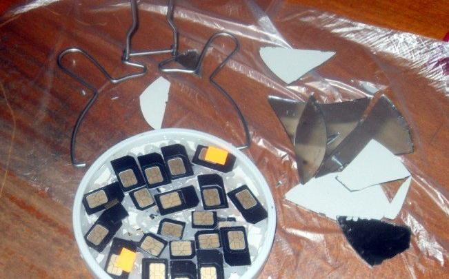 Сим-карты осужденным котласской ИК-4 пытались передать в зеркале