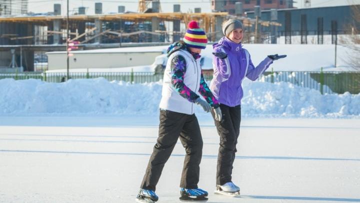 Где в Челябинске покататься на коньках бесплатно: публикуем карту дворовых катков