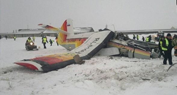 В Ненецком автономном округе разбился пассажирский самолёт, на котором летели чиновники